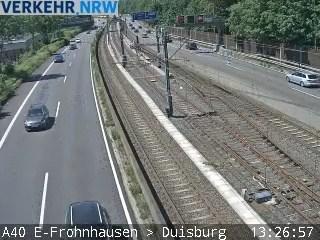 Blickrichtung Duisburg